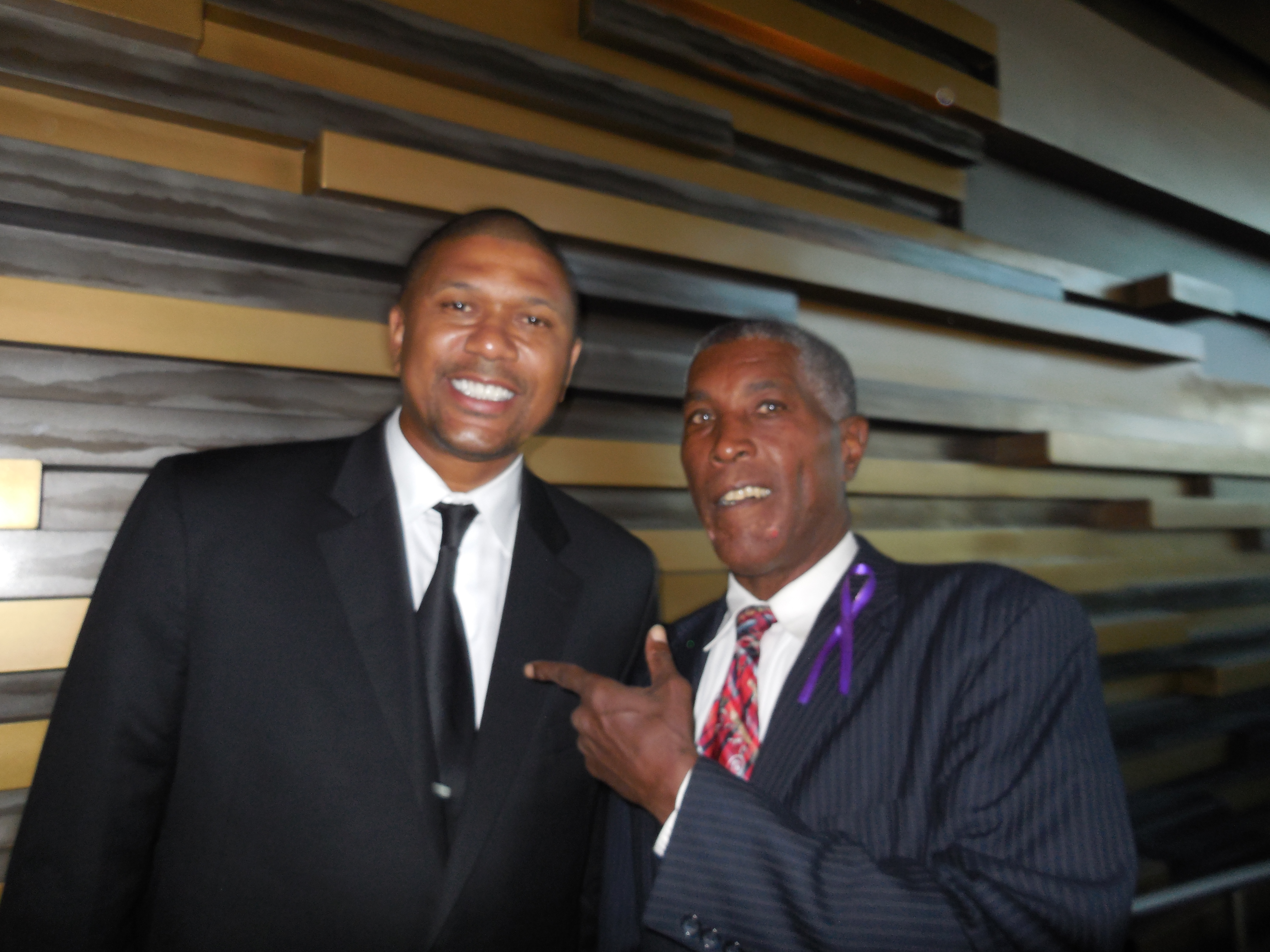 Jalen Rose At the Frontline Fighting for Education of Young